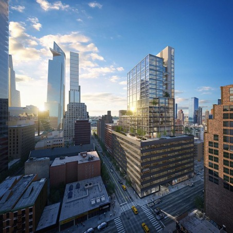 Wallace Eannace Contracted for Technical Support and HVAC System solutions at 441 Ninth Avenue, New York City