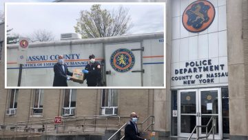 Wallace Eannace Continues Its Fight Against COVID-19, Delivering Protective Gear (PPE) to Nassau County NY Office of Emergency Management and Nassau County Police Department