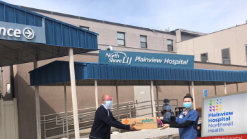 Wallace Eannace Joins the Fight Against COVID-19, Delivering Protective Gear (PPE) to Northwell Health, Plainview Hospital, NY