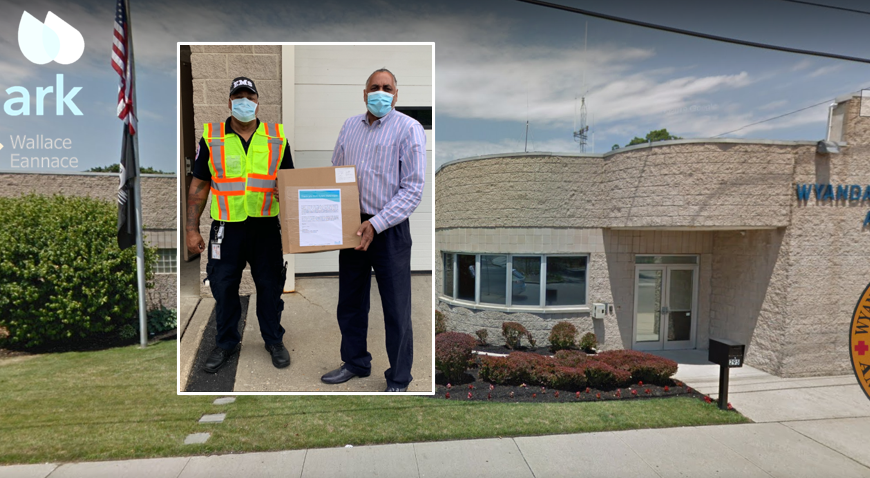 Wallace Eannace and Xylem Watermark Donate Personal Protective Equipment (PPE) to Wyandanch Ambulance Corp., New York