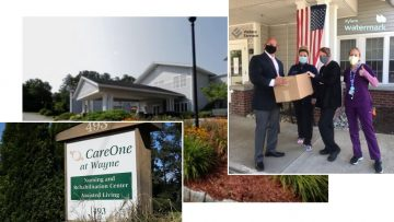 Wallace Eannace and Xylem Watermark Donate Personal Protective Equipment (PPE) to CareOne Nursing & Rehabilitation Center in Wayne, NJ