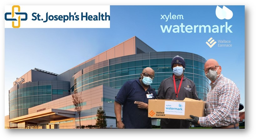Wallace Eannace and Xylem Watermark Donate Personal Protective Equipment (PPE) to St. Joseph's Regional Health and Medical Center, Paterson, NJ
