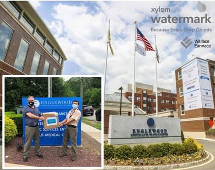 Wallace Eannace and Xylem Watermark Donate Personal Protective Equipment (PPE) to Englewood Hospital and Medical Center Englewood, NJ