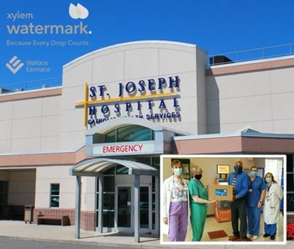 Wallace Eannace and Xylem Watermark Donate Personal Protective Equipment (PPE) to St. Joseph Hospital Bethpage, NY