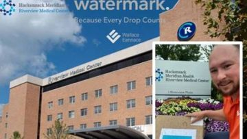 Wallace Eannace and Xylem Watermark Donate Personal Protective Equipment (PPE) to Hackensack Meridian Health Riverview Medical Center Red Bank, NJ