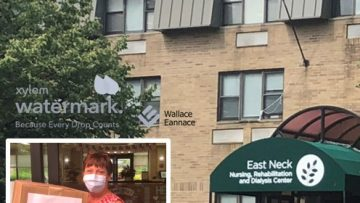 Wallace Eannace's Tony Campisi and Xylem Watermark Donate Personal Protective Equipment (PPE) to East Neck Nursing & Rehabilitation Center Babylon, NY