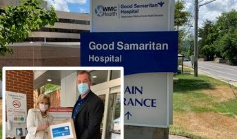 Wallace Eannace's Stephen Martin and Xylem Watermark Donate Personal Protective Equipment (PPE) to Good Samaritan Hospital Suffern, NY