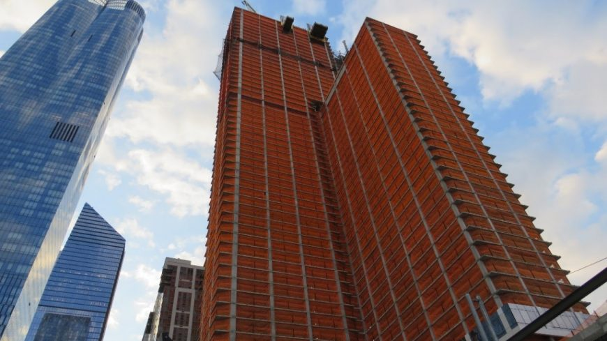 Prefab Pumping Packages Speed Construction at Residential Tower in Hudson Yards, NYC